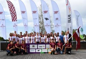Avropa Gənclər Yay Olimpiya Festivalında Latviya komandasının bayraqdarı qadın olacaq