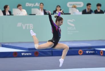 İdman gimnastikası üzrə dünya kubokunun ikinci gününə yekun vurulub