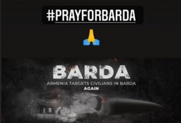 """Dünya çempionu: """"Pray for Barda"""""""