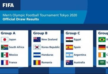 """Tokio-2020"" Yay Olimpiya Oyunlarının futbol yarışlarının püşkü atılıb"